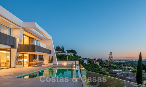 Exclusive modern luxury villas for sale, New Golden Mile, between Marbella and Estepona 25373