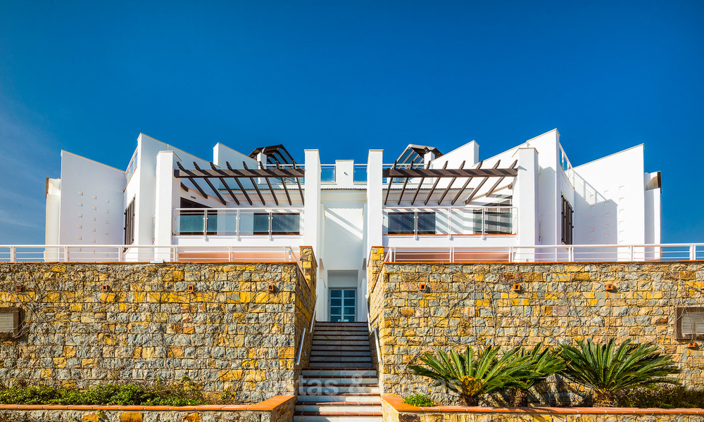 Newly renovated frontline beach apartments for sale, ready to move in, Casares, Costa del Sol 5309