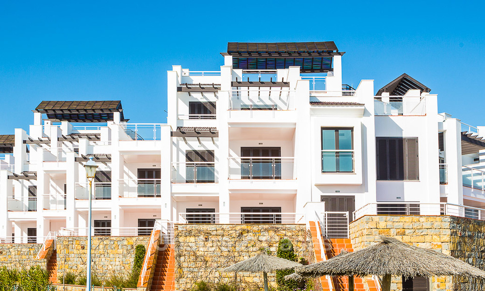 Newly renovated frontline beach apartments for sale, ready to move in, Casares, Costa del Sol 5316