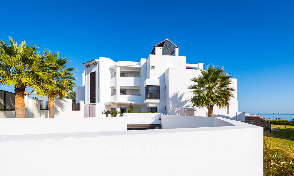 Newly renovated frontline beach apartments for sale, ready to move in, Casares, Costa del Sol 5318