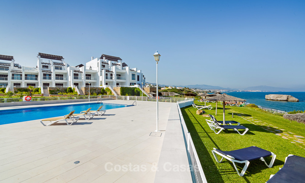Newly renovated frontline beach apartments for sale, ready to move in, Casares, Costa del Sol 5341