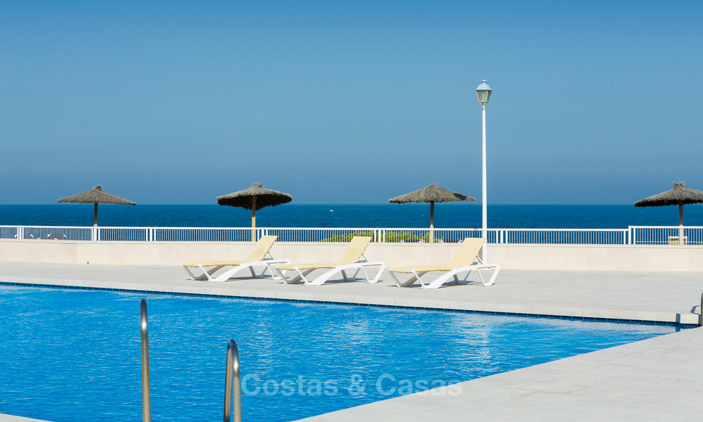 Newly renovated frontline beach apartments for sale, ready to move in, Casares, Costa del Sol 5342