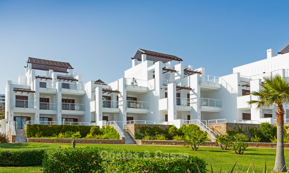 Newly renovated frontline beach apartments for sale, ready to move in, Casares, Costa del Sol 5343