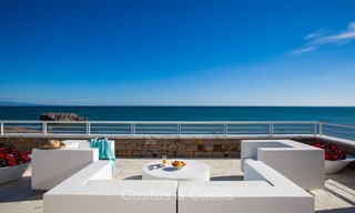 Newly renovated frontline beach apartments for sale, ready to move in, Casares, Costa del Sol 5346