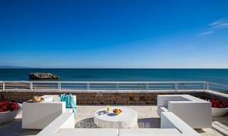 Newly renovated frontline beach apartments for sale, ready to move in, Casares, Costa del Sol 5347