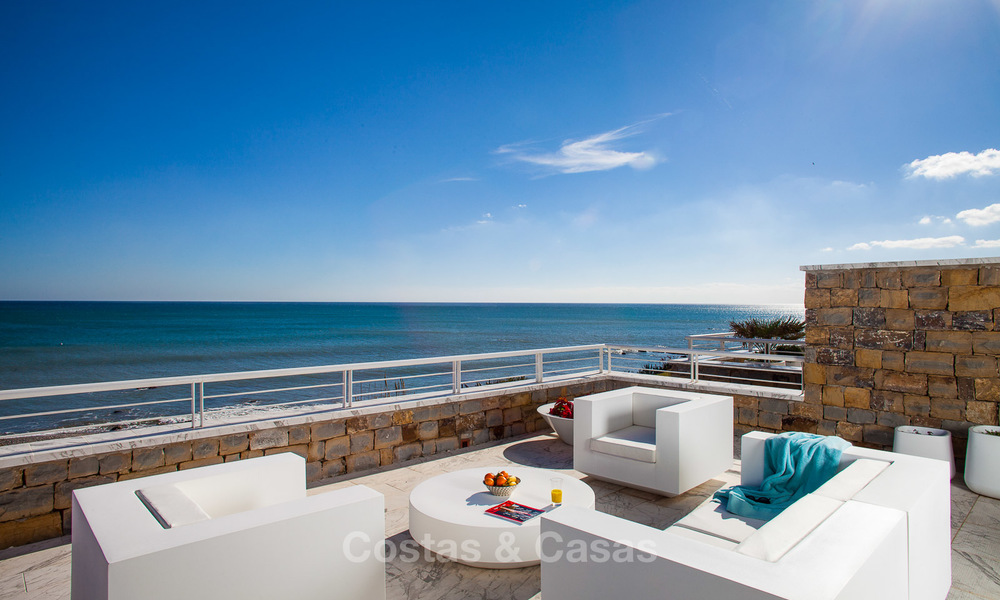 Newly renovated frontline beach apartments for sale, ready to move in, Casares, Costa del Sol 5350