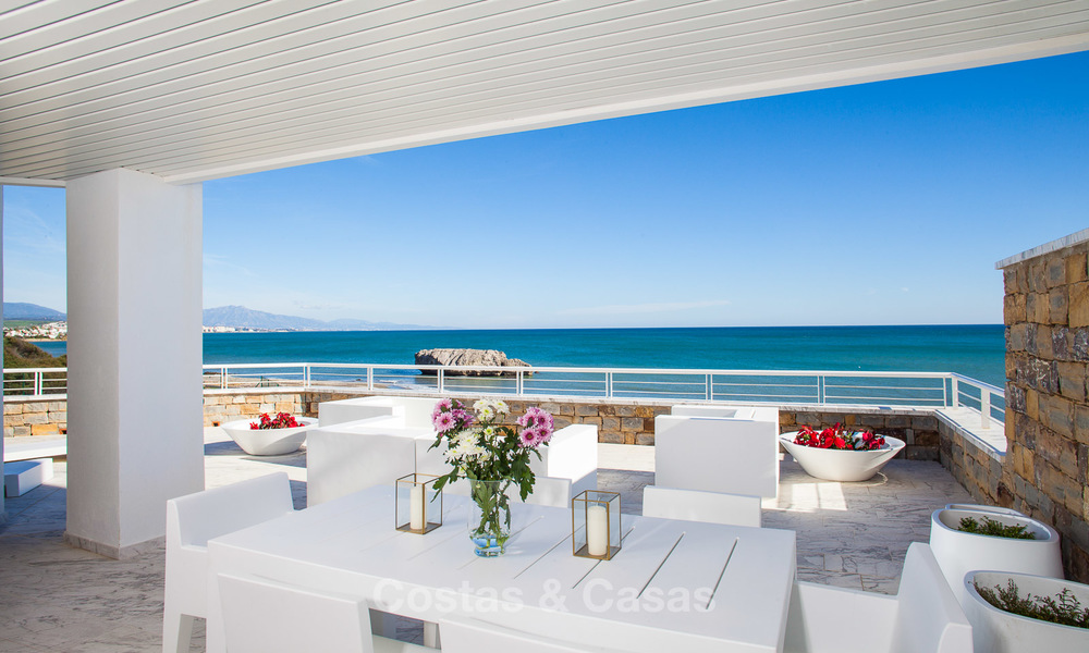 Newly renovated frontline beach apartments for sale, ready to move in, Casares, Costa del Sol 5348