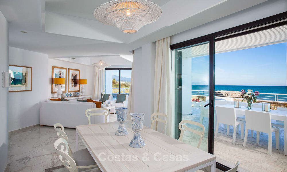 Newly renovated frontline beach apartments for sale, ready to move in, Casares, Costa del Sol 5351