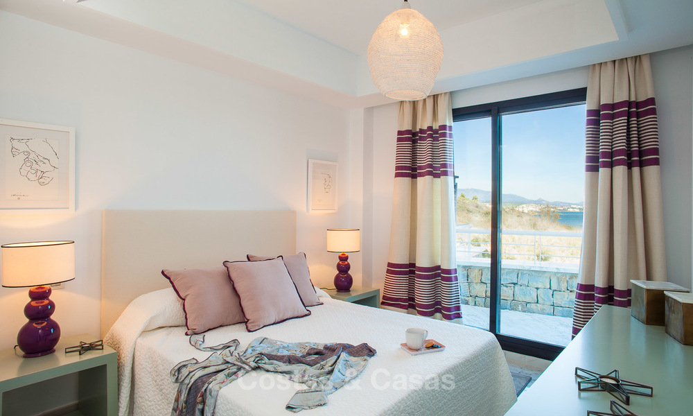 Newly renovated frontline beach apartments for sale, ready to move in, Casares, Costa del Sol 5355