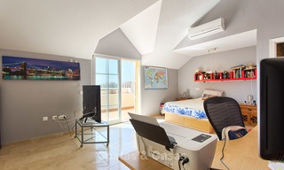 Very spacious, cosy and convenient luxury penthouse apartment for sale, Estepona center 5645