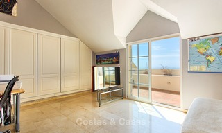 Very spacious, cosy and convenient luxury penthouse apartment for sale, Estepona center 5646