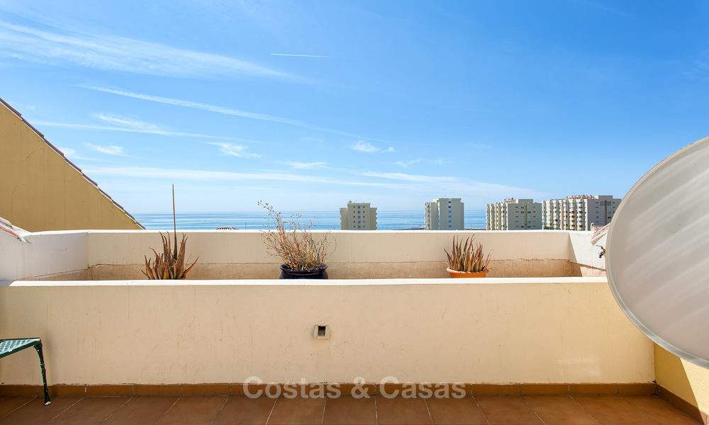 Very spacious, cosy and convenient luxury penthouse apartment for sale, Estepona center 5647
