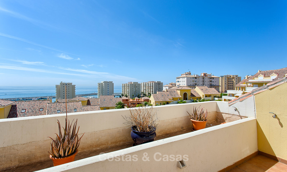 Very spacious, cosy and convenient luxury penthouse apartment for sale, Estepona center 5649