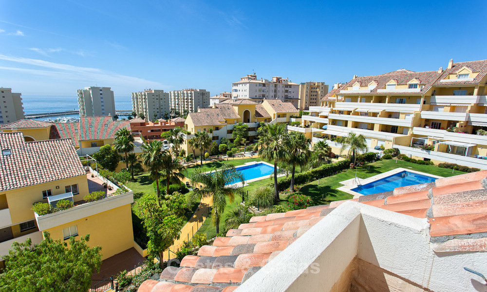 Very spacious, cosy and convenient luxury penthouse apartment for sale, Estepona center 5650