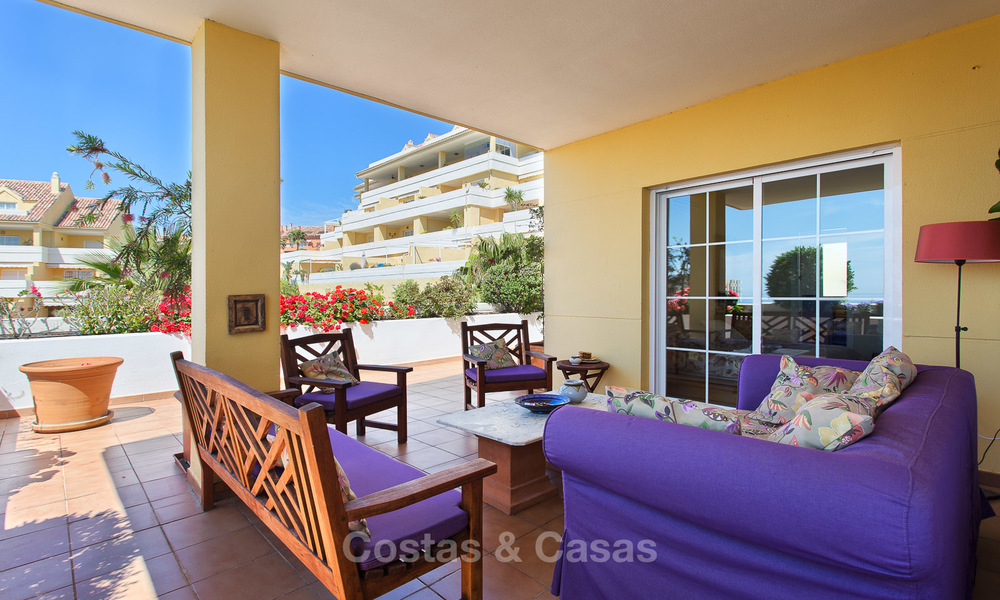 Very spacious, cosy and convenient luxury penthouse apartment for sale, Estepona center 5652