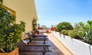Very spacious, cosy and convenient luxury penthouse apartment for sale, Estepona center 5657