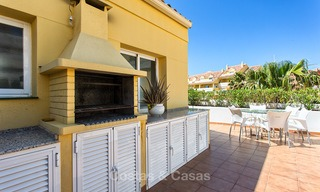 Very spacious, cosy and convenient luxury penthouse apartment for sale, Estepona center 5658