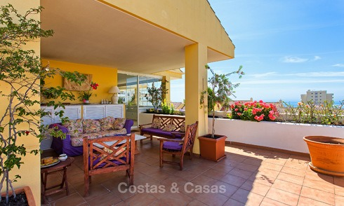 Very spacious, cosy and convenient luxury penthouse apartment for sale, Estepona center 5659