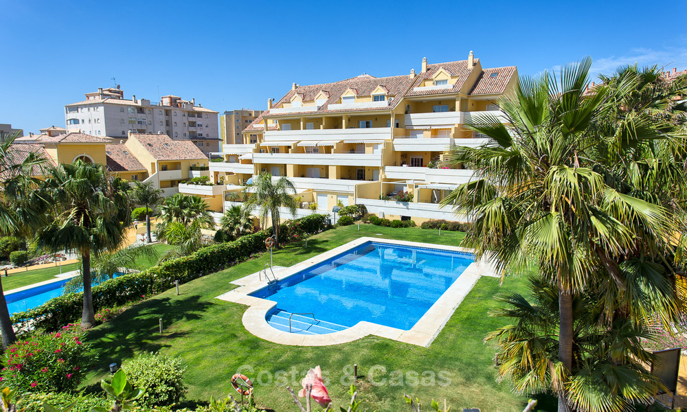 Very spacious, cosy and convenient luxury penthouse apartment for sale, Estepona center 5660