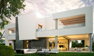 Captivating new luxury beachside villas for sale, contemporary style, San Pedro, Marbella 5615