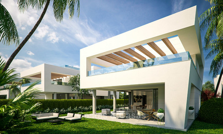 Captivating new luxury beachside villas for sale, contemporary style, San Pedro, Marbella 5616