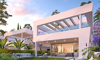 Captivating new luxury beachside villas for sale, contemporary style, San Pedro, Marbella 5617