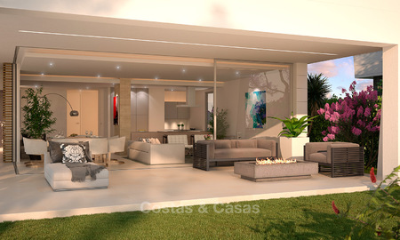 Captivating new luxury beachside villas for sale, contemporary style, San Pedro, Marbella 5620