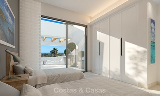 Captivating new luxury beachside villas for sale, contemporary style, San Pedro, Marbella 5623