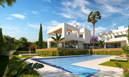 Captivating new luxury beachside villas for sale, contemporary style, San Pedro, Marbella 5625