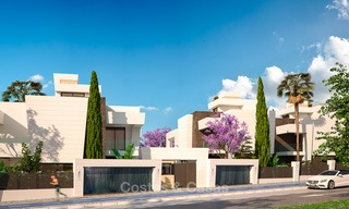 Captivating new luxury beachside villas for sale, contemporary style, San Pedro, Marbella 5626
