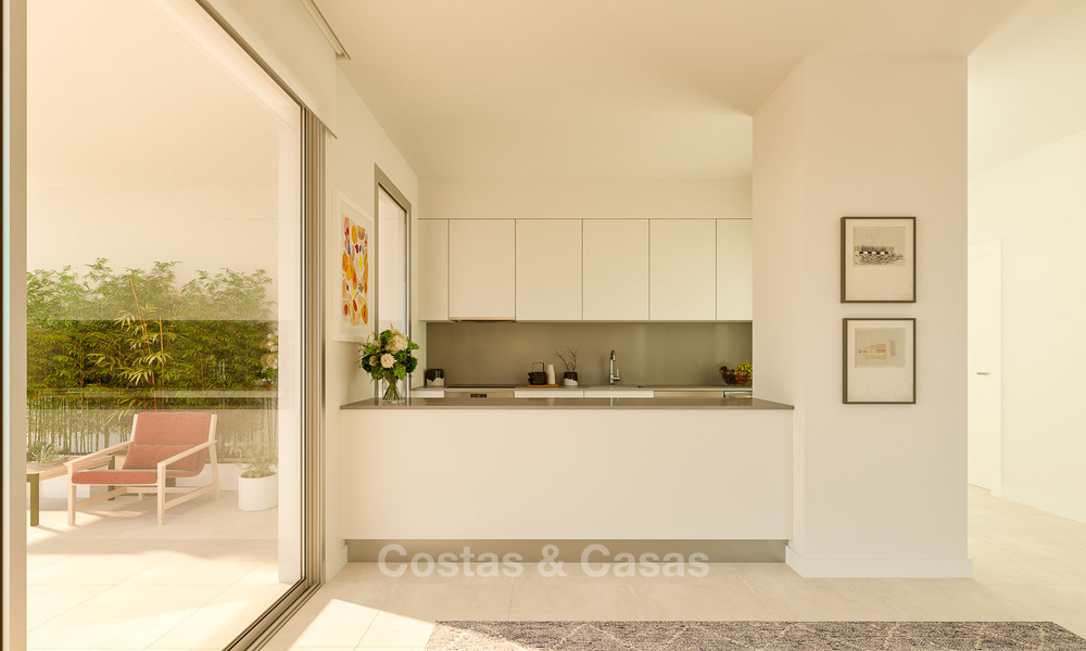 Delightful new luxury apartments with panoramic sea views for sale, Fuengirola, Costa del Sol 5667