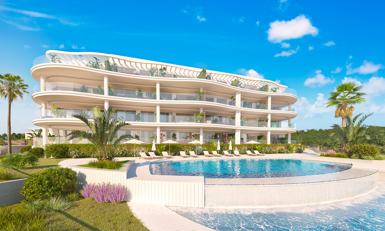 Delightful new luxury apartments with panoramic sea views for sale, Fuengirola, Costa del Sol 5670