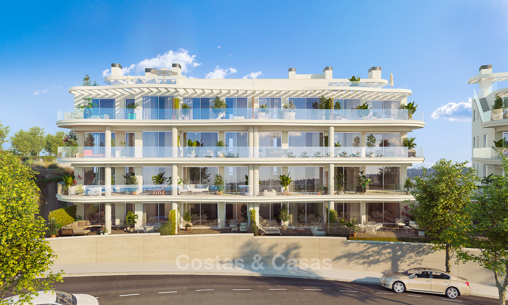 Delightful new luxury apartments with panoramic sea views for sale, Fuengirola, Costa del Sol 5671