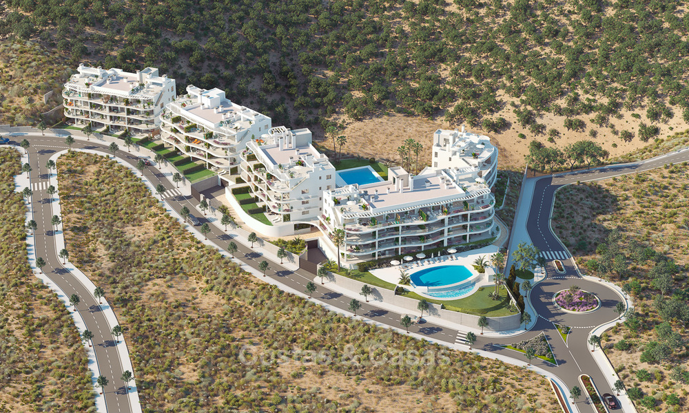Delightful new luxury apartments with panoramic sea views for sale, Fuengirola, Costa del Sol 5674