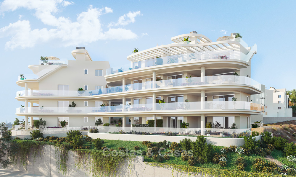 Delightful new luxury apartments with panoramic sea views for sale, Fuengirola, Costa del Sol 5675
