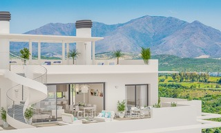 New avant-garde golf apartments and townhouses for sale, breath taking sea views, Casares, Costa del Sol 5724