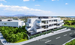New modern frontline golf apartments for sale, La Cala de Mijas, Costa del Sol 5700