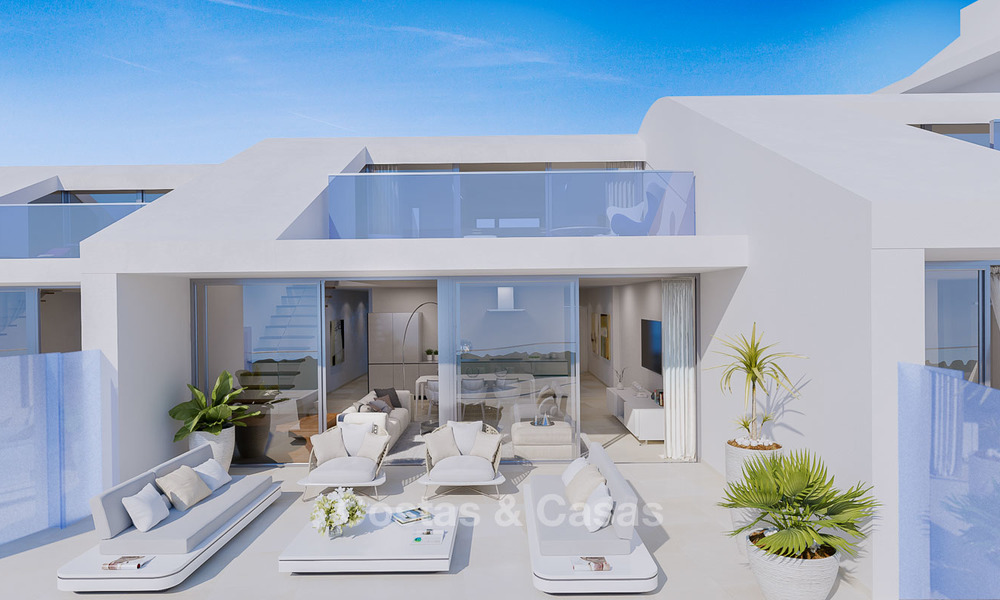 New exclusive, avant garde apartments for sale, with panoramic seaviews, Benalmadena, Costa del Sol 5744