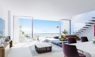 New exclusive, avant garde apartments for sale, with panoramic seaviews, Benalmadena, Costa del Sol 5746