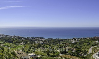 New exclusive, avant garde apartments for sale, with panoramic seaviews, Benalmadena, Costa del Sol 12383