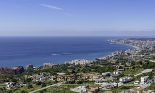 New exclusive, avant garde apartments for sale, with panoramic seaviews, Benalmadena, Costa del Sol 12384
