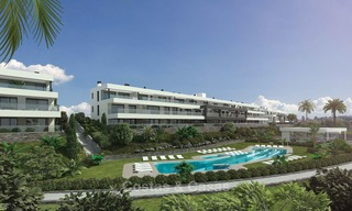 Modern luxury apartments for sale near the beach, with golf and sea views, Casares, Costa del Sol 5779
