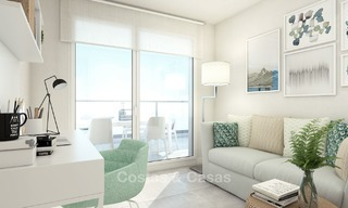 Modern luxury apartments for sale near the beach, with golf and sea views, Casares, Costa del Sol 5780