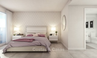 Modern luxury apartments for sale near the beach, with golf and sea views, Casares, Costa del Sol 5781