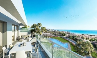 Modern luxury apartments for sale near the beach, with golf and sea views, Casares, Costa del Sol 5787