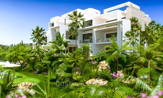 New, modern raised garden apartment with golf, mountain- and sea-views for sale in Benahavis - Marbella 5833
