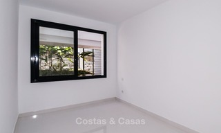New, modern raised garden apartment with golf, mountain- and sea-views for sale in Benahavis - Marbella 5810