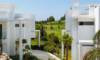 New, modern raised garden apartment with golf, mountain- and sea-views for sale in Benahavis - Marbella 5825