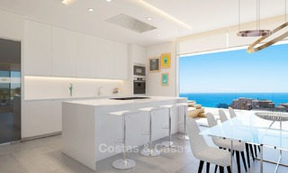 Sunny, modern luxury apartments for sale, with unobstructed sea views, Fuengirola, Costa del Sol 5837