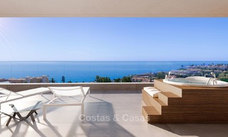 Sunny, modern luxury apartments for sale, with unobstructed sea views, Fuengirola, Costa del Sol 5838